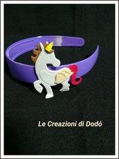 Cerchietti personalizzabili con unicorni