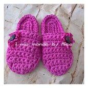 Pantofole donna in lycra