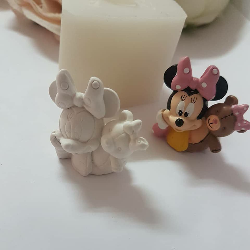 stampo in silicone minnie