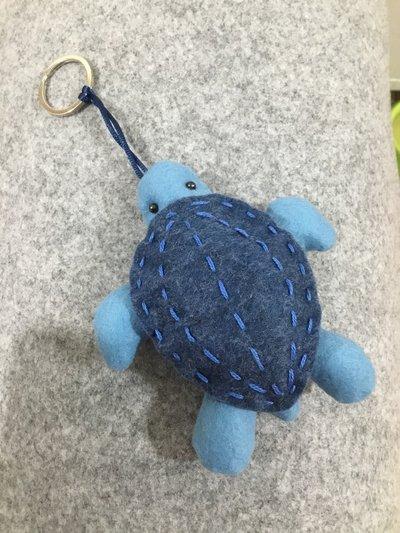 Portachiavi in panno tartaruga