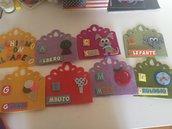 Impariamo l'alfabeto stile Montessori