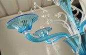 Tazza, ricambio per lampadari di Venini e non , con pezzi rotti o danneggiati, in vetro soffiato