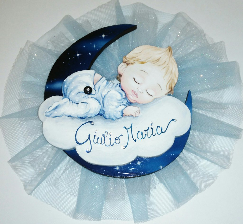 Nome per nascita bimbo con tulle