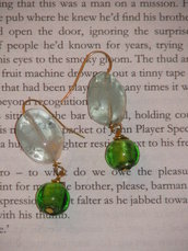 Ligth Green Earrings