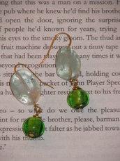 Ligth Green Earrings