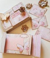 """Mini Album fotografico """"La Vie en Rose"""""""