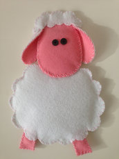 """Pecorella in panno - """"Animali della fattoria"""""""
