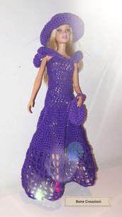 Abito Barbie modello Violetta