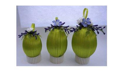 Set uova di pasqua decorate