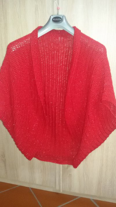 Cardigan -cocoon Rosso