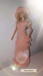 Abito Barbie modello Petalo