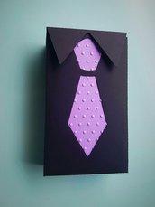 scatolina ' camicia e cravatta '