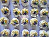 Prima comunione. Bomboniera, Minicake in pasta di mais