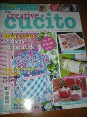 CASA CREATIVA presenta IDEE CREATIVE DI CUCITO supplemento n° 3 anno 2014