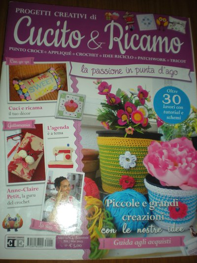 CUCITO & RICAMO rivista di progetti creativi ANNO 1 n°1 2013