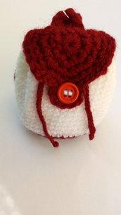 Portachiavi uncinetto lana amigurumi crochet confettate bomboniera
