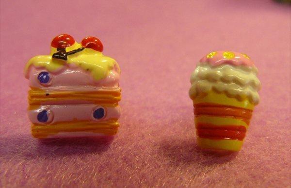 Orecchini con dolcetti