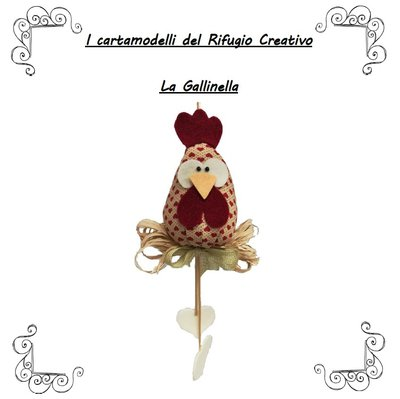 "Cartamodello ""La Gallinella"""