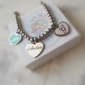 BRACCIALE IN ACCIAO PERSONALIZZABILE