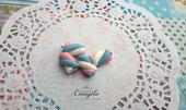 Marshmallow fimo dolci ciondolo pendente componenti per bigiotteria decoden cabochon
