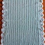 Copertina Tiffany uncinetto