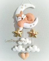 Fiocco nascita sognate tema volpe del Piccolo Principe