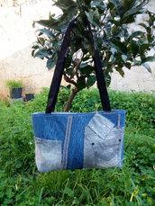 Borsa jeans artigianale
