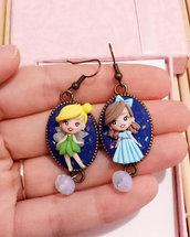 Earrings Tenerissimi orecchini Trilly e Wendy, handmade, creazioni in fimo