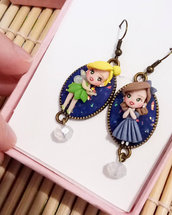 Earrings Carinissimi orecchini Trilly e Wendy, handmade, creazioni in fimo