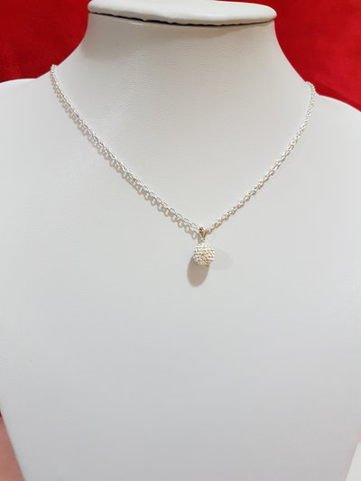 collana perla pavè