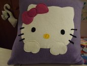 Cuscino pile Hello Kitty
