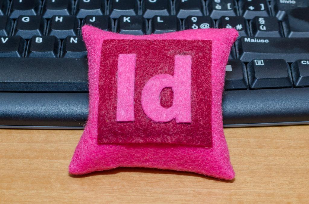 Mini cuscino InDesign