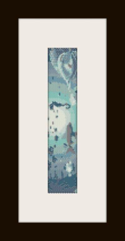 PDF schema bracciale Oceano in stitch peyote pattern - solo per uso personale