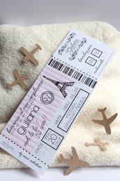 invito biglietto aereo