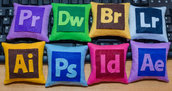 Mini cuscini Adobe ( 8 pezzi)