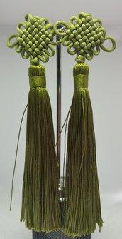 Orecchini Dangle Earring green