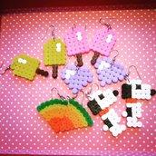 Orecchini Handmade vari soggetti