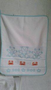 asciugamano asilo granchi