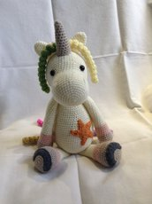 Unicorno con stella
