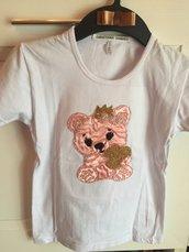 maglietta bambina orso