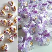 Bomboniera Comunione di confetti decorati - bomboniera cresima - confettata comunione - confettata cresima - confetti aromatizzati - confetti decorati -