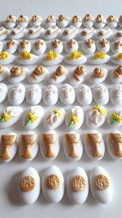 Confetti comunione - confettata comunione - confettata cresima- confetti decorati - bomboniere fai da te - comunione fai da te - confetti cresima