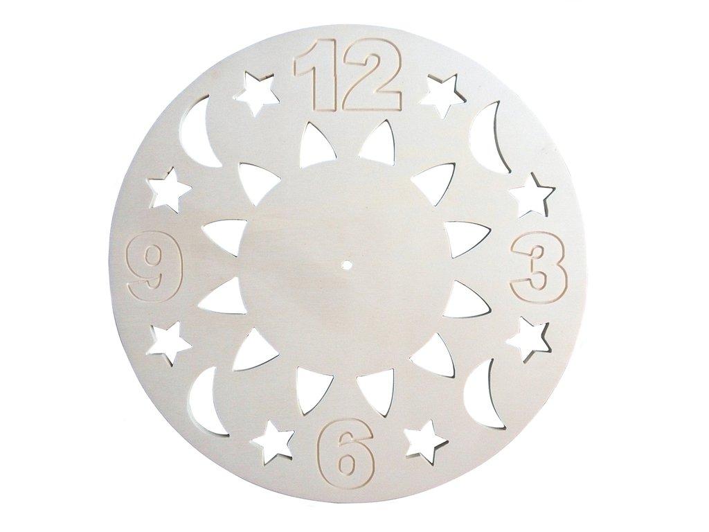 Base per orologio mod. astri,  grandi dimensioni 38 cm
