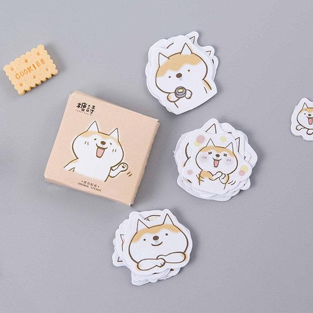 """Stickers, adesivi decorativi """"adorable dog"""""""