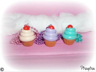 Collane cupcakes!