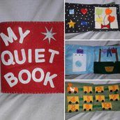 Mini quiet book