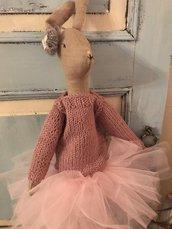 Coniglio Ballerina in tre colori