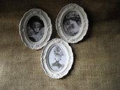 Quadretti stile vintage in polvere ceramica 3 pezzi