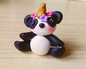 Bomboniera panda, Bomboniera pandacorno, confettata nascita, bomboniera battesimo, bomboniera comunione, compleanno panda