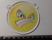 (485) ciondolo smile in plexiglass